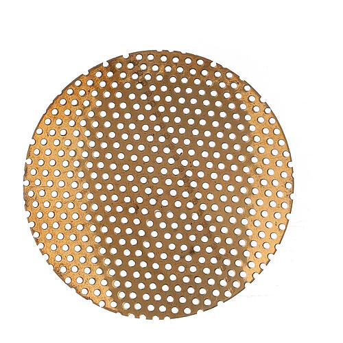 Spare net for incense burner 2 in gold plated brass 1