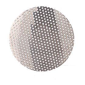 Ersatznetz fűr Weihrauchbrenner aus vernickeltem Messing, 5 cm s2