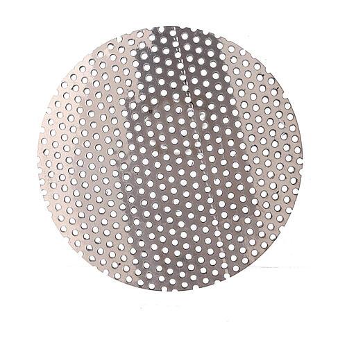 Ersatznetz fűr Weihrauchbrenner aus vernickeltem Messing, 5 cm 2