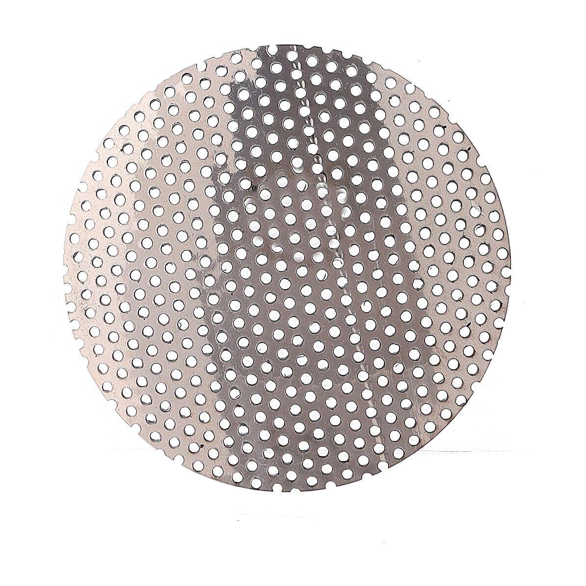 Spare incense burner net in nickel-plated brass 5 cm 3