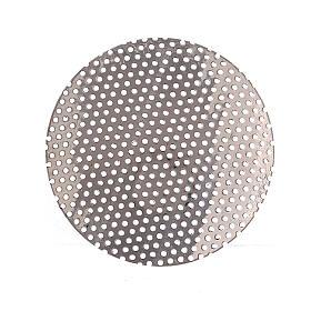 Spare incense burner net in nickel-plated brass 5 cm s1