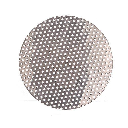 Spare incense burner net in nickel-plated brass 5 cm 1