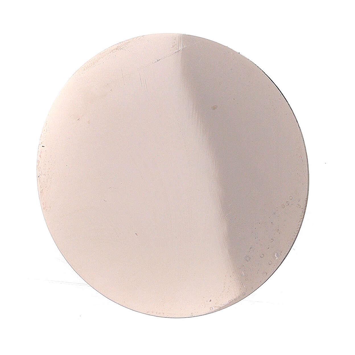Platillo incienso recambio pebetero acero 5 cm 3