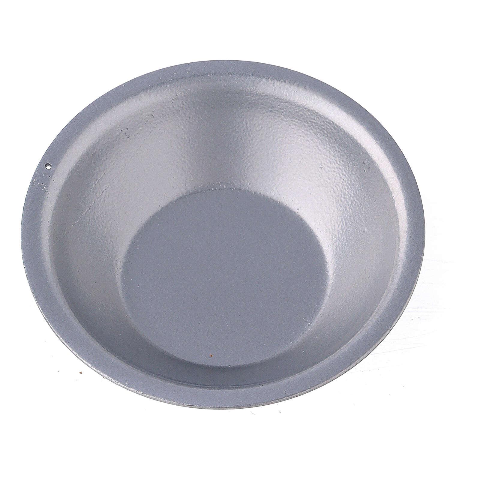 Bowl of essential oils for silver incense burner 3