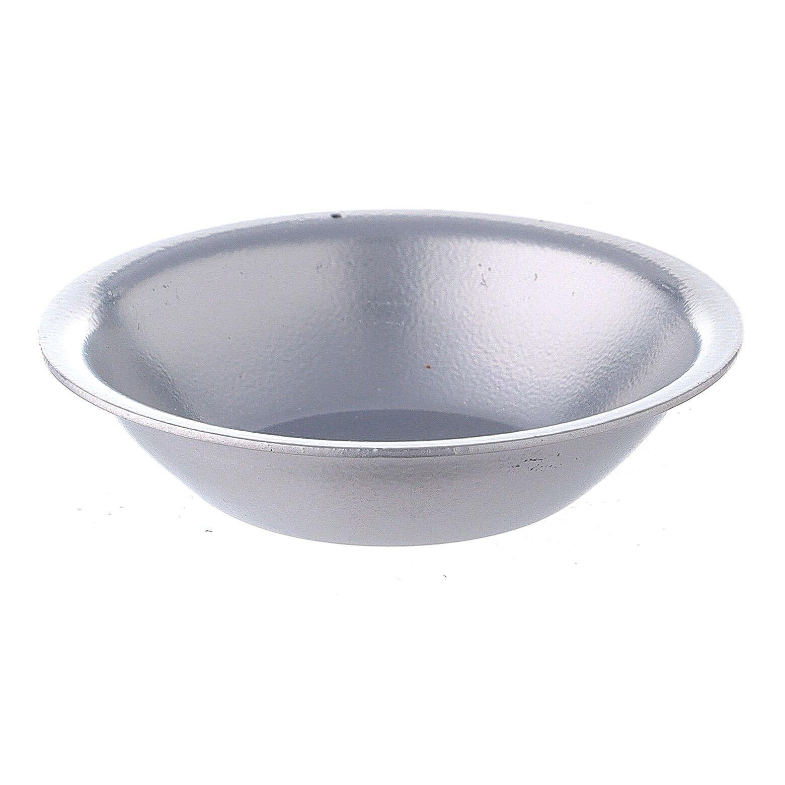 Silver essential oil bowl for incense burner 3