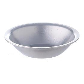 Silver essential oil bowl for incense burner s1