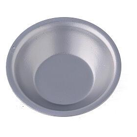 Silver essential oil bowl for incense burner s2