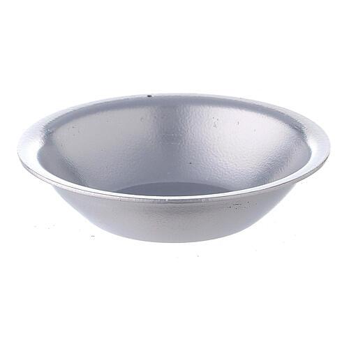 Silver essential oil bowl for incense burner 1