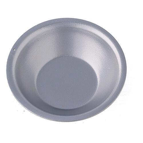 Silver essential oil bowl for incense burner 2
