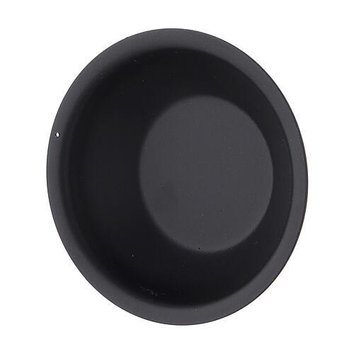 Schwarze Weihrauchbrenner-Schale fűr ätherische Öle, 30 ml 2