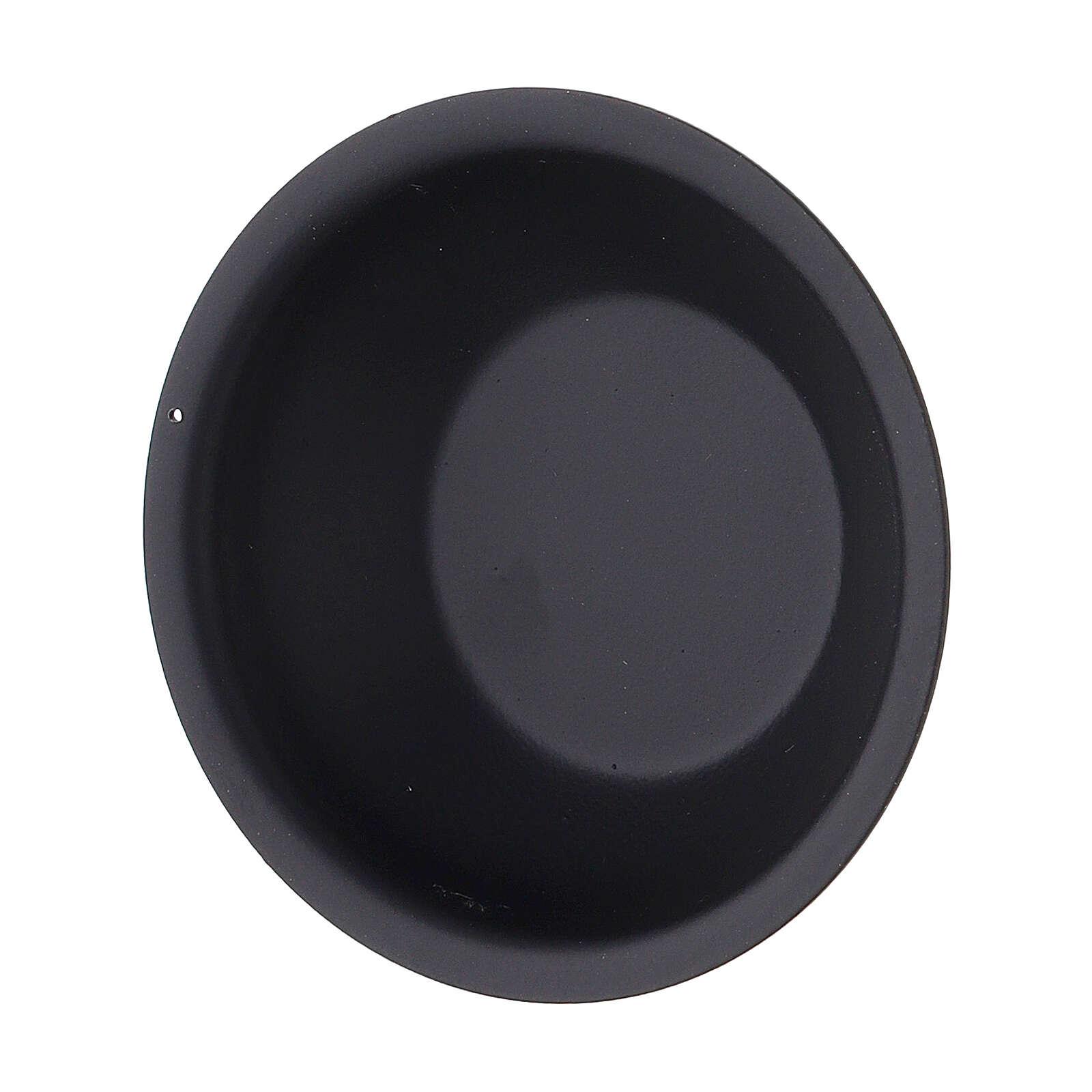 Escudilla para aceites esenciales pebetero 30 ml negro 3