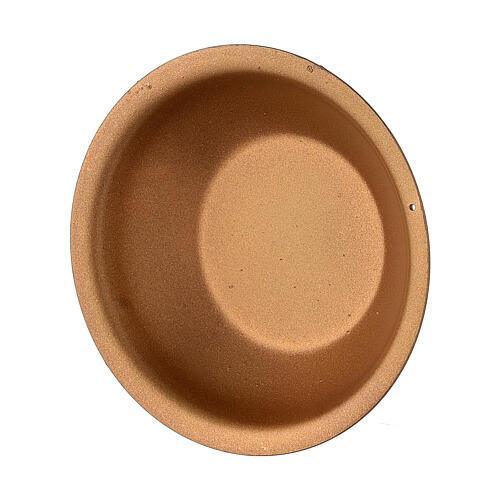 Gold essential oil bowl for incense burner 30 ml 2