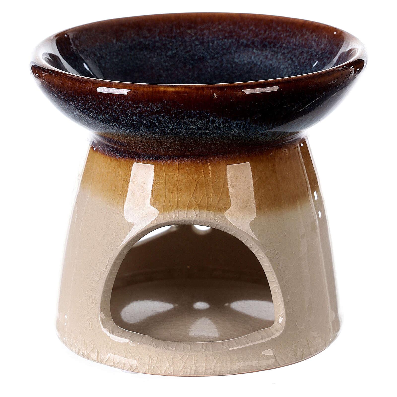 Diffuseur essences céramique 10x12 cm décoré 3