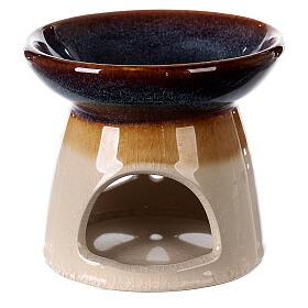 Diffuseur essences céramique 10x12 cm décoré s1