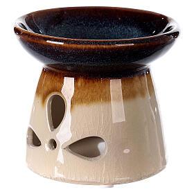Diffuseur essences céramique 10x12 cm décoré s3