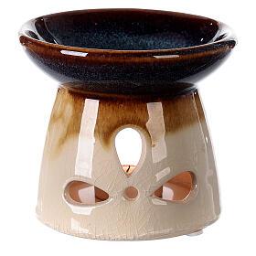 Diffuseur essences céramique 10x12 cm décoré s5