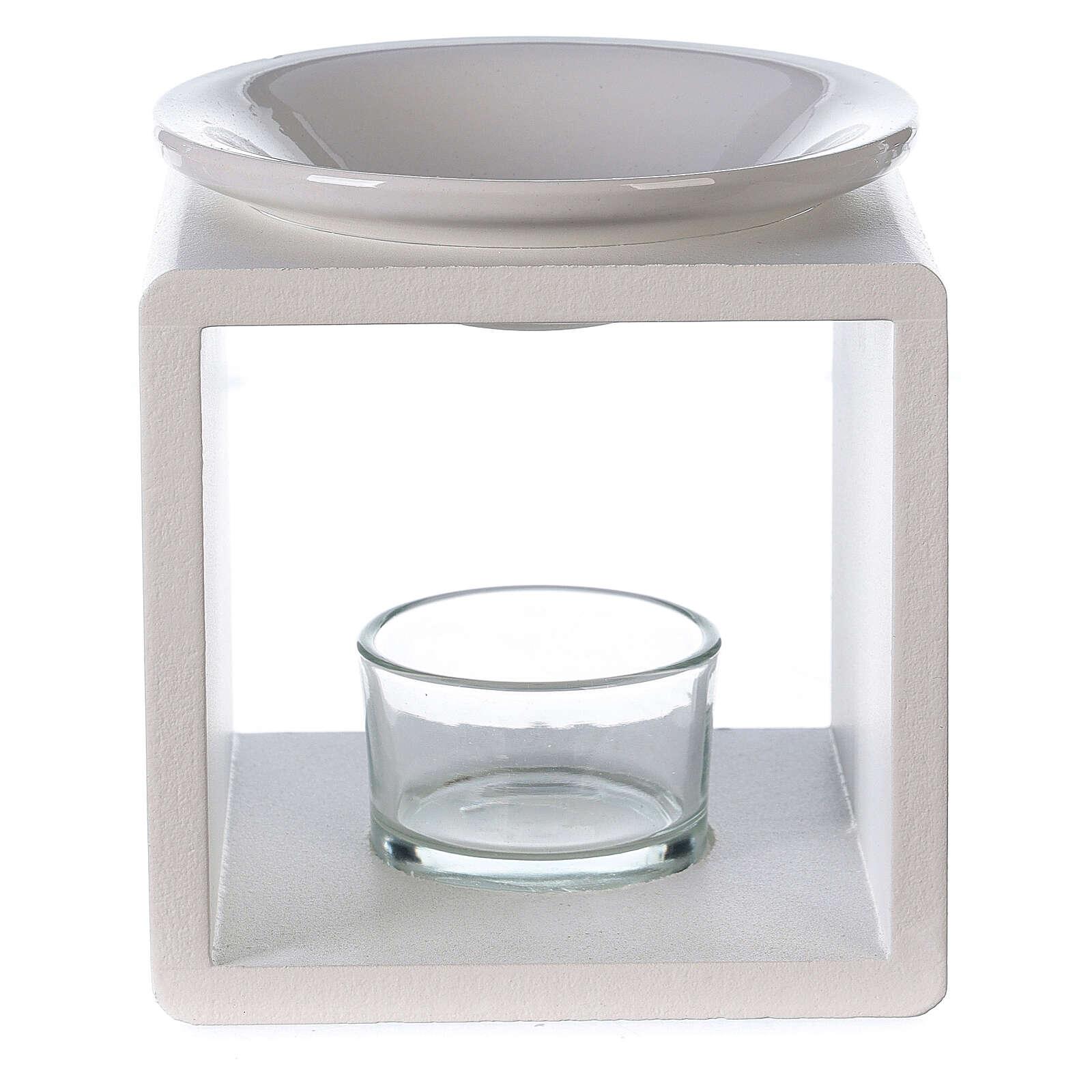 Difusor cubo blanco 12,5 cm 3