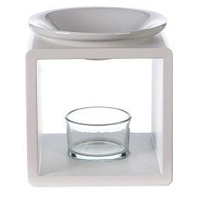 Difusor cubo blanco 12,5 cm s1