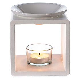 Difusor cubo blanco 12,5 cm s2