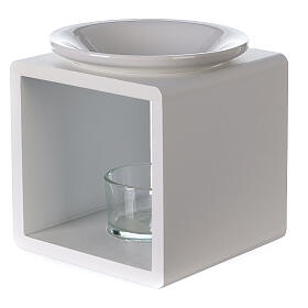 Difusor cubo blanco 12,5 cm s3