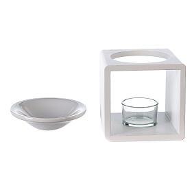 Difusor cubo blanco 12,5 cm s4