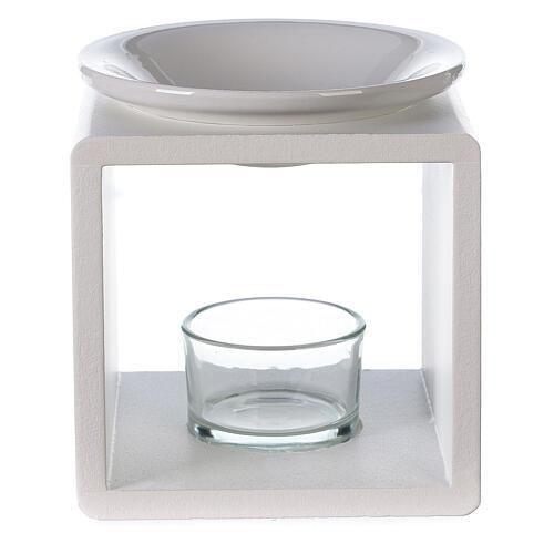 Difusor cubo blanco 12,5 cm 1