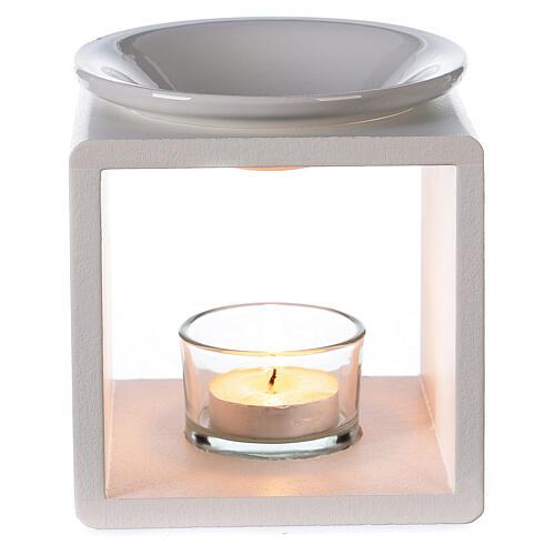 Difusor cubo blanco 12,5 cm 2