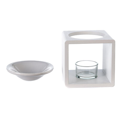 Difusor cubo blanco 12,5 cm 4