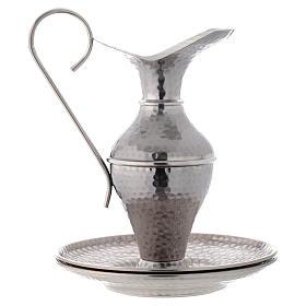 Conjunto jarra martilleada simple s2