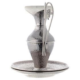 Conjunto jarra martilleada simple s3