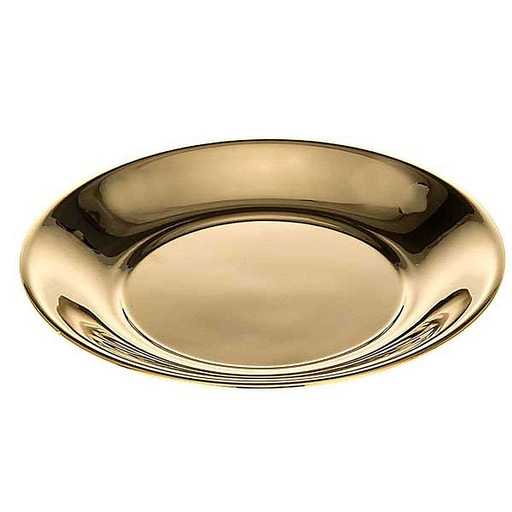 Schale für Wasserkanne vergoldet oder mit Palladium-Legierung 3