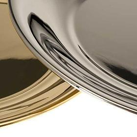 Schale für Wasserkanne vergoldet oder mit Palladium-Legierung s6