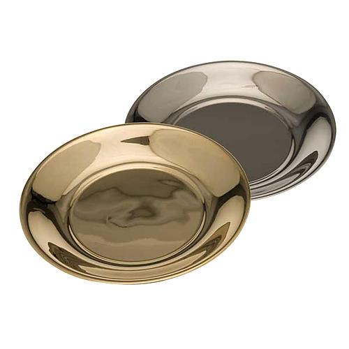 Schale für Wasserkanne vergoldet oder mit Palladium-Legierung 1