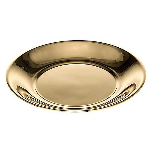 Schale für Wasserkanne vergoldet oder mit Palladium-Legierung 2