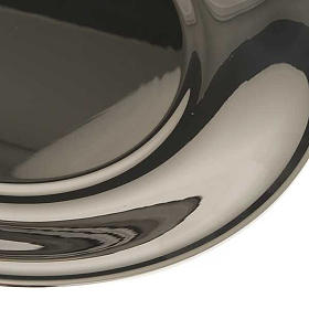 Bowl in gold-plated or palladium plated  brass s4