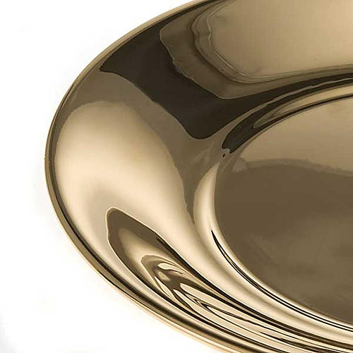 Bowl in gold-plated or palladium plated  brass 5