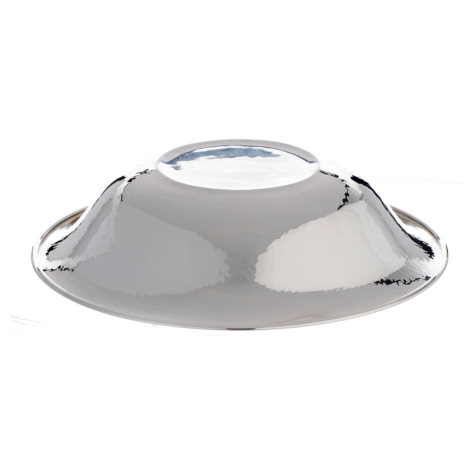 Wasserbecken für Kanne zur Händewaschung aus 800er Silber 3
