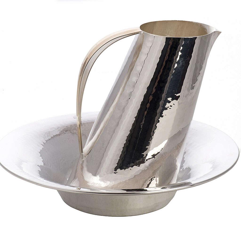 Kanne zur Händewaschung und Wasserschale Modell Aqua 3