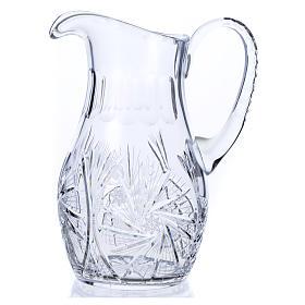 Wasserkanne zur Händewaschung aus Kristall s2
