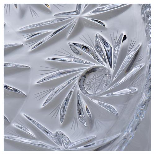 Wasserkanne zur Händewaschung aus Kristall 5