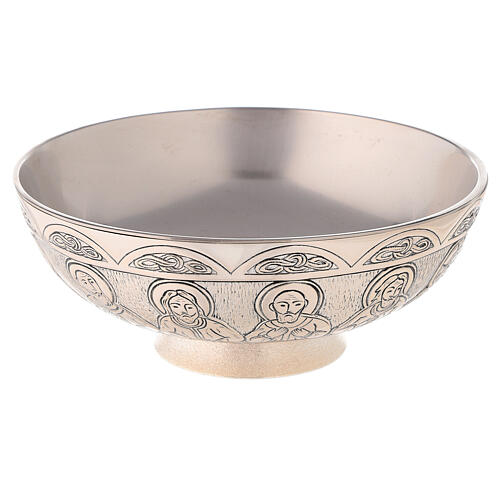 Molina tray and ewer set in silver brass 4