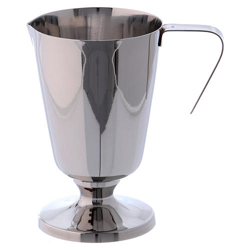 Molina tray and ewer set in stainless steel 3