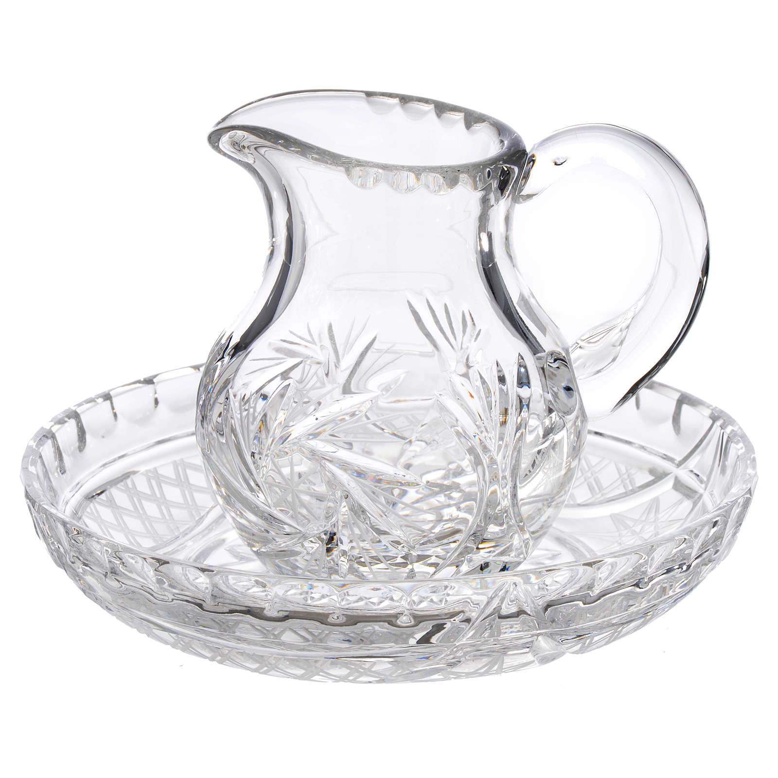 Pitcher with tray in crystal 200cc 3