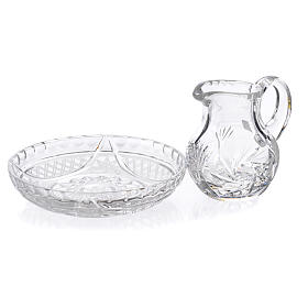 Pitcher with tray in crystal 200cc s2