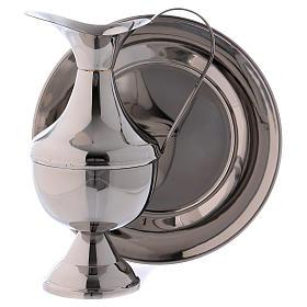 Aiguière pour lavage mains en laiton avec bassine s2