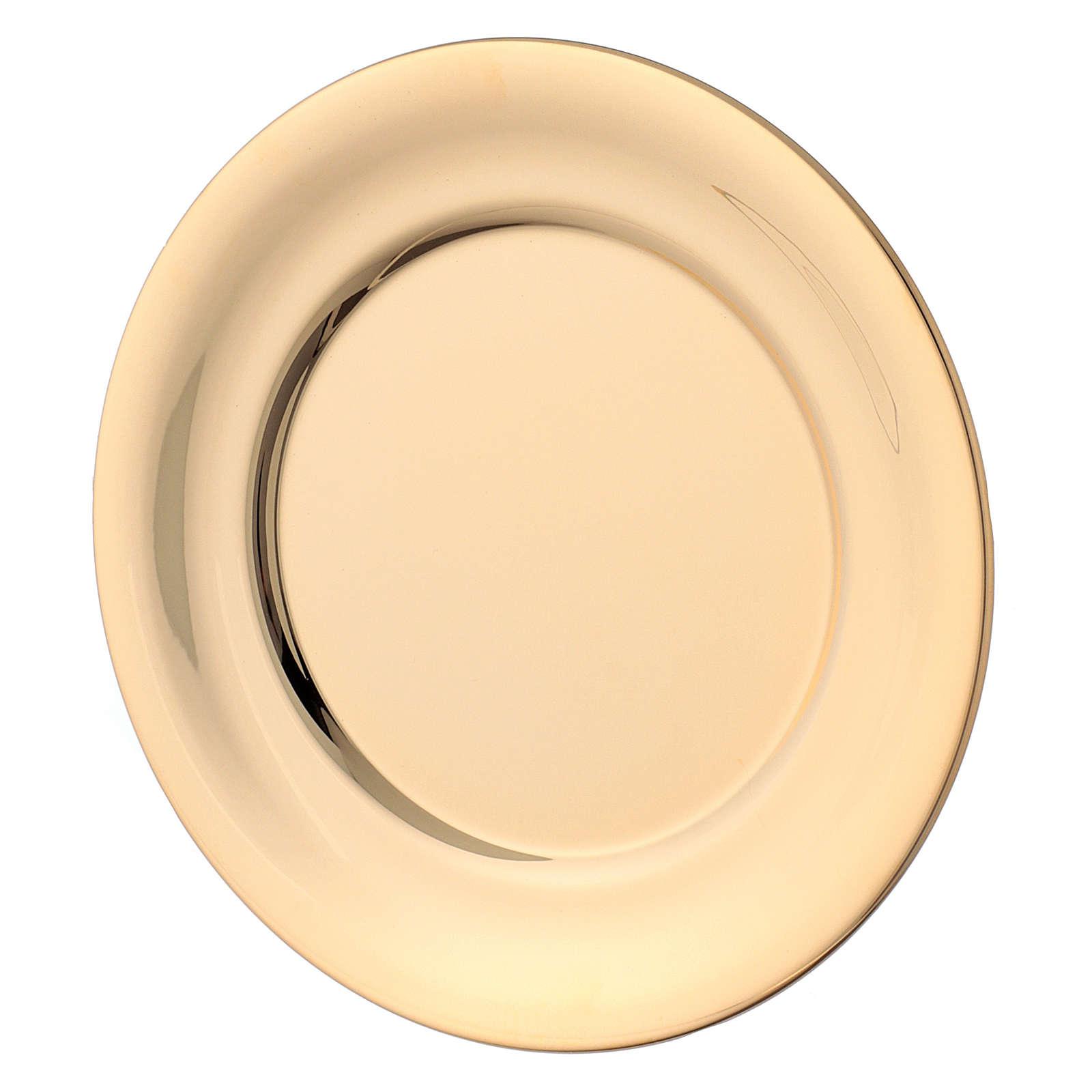 Aiguière pour lavage des mains laiton doré 3
