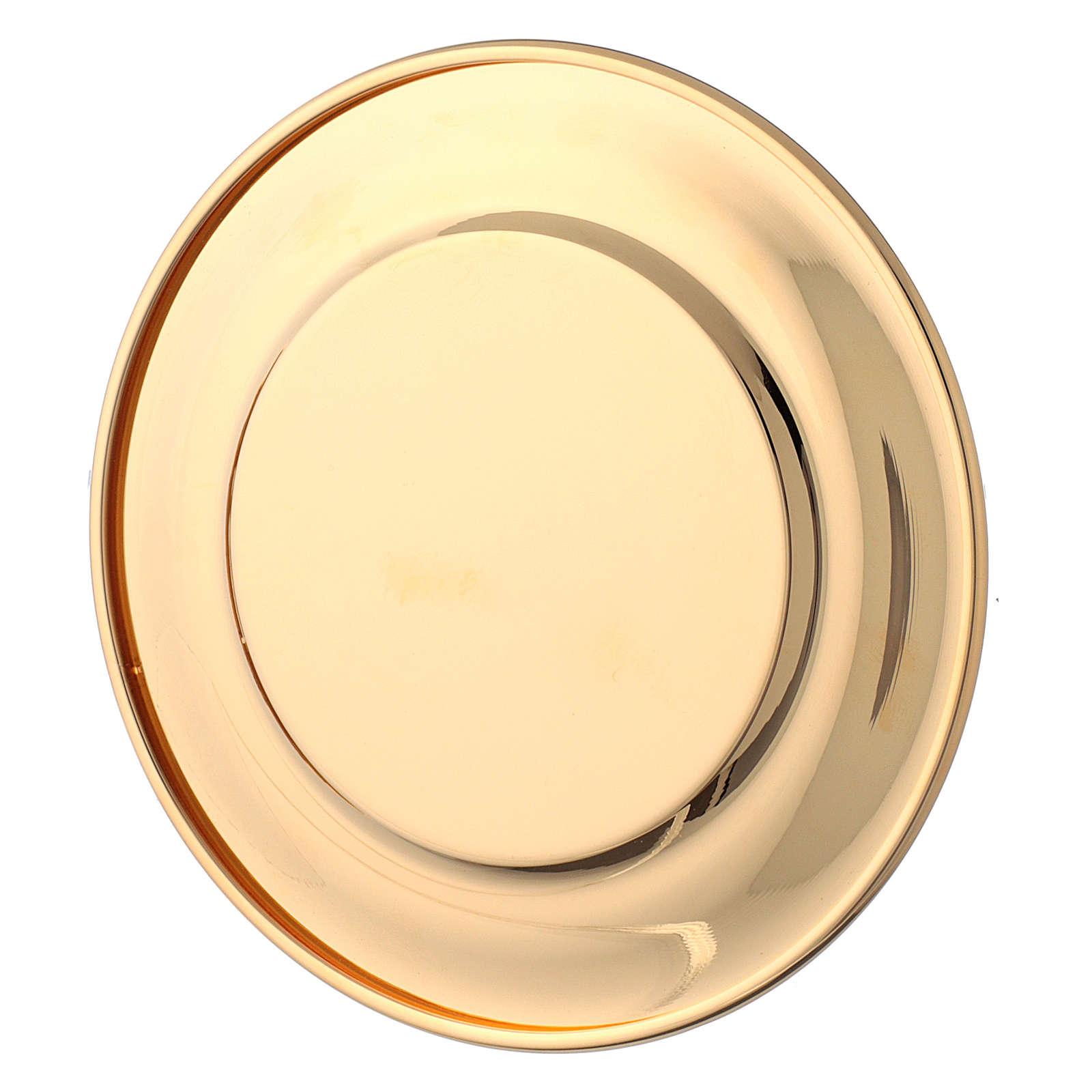 Brocca per il manutergio ottone dorato  3