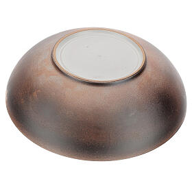 Piatto brocca concavo ceramica Pompei 30 cm s3
