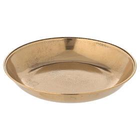 Jarra para lavagem das mãos em latão dourado antigo s4