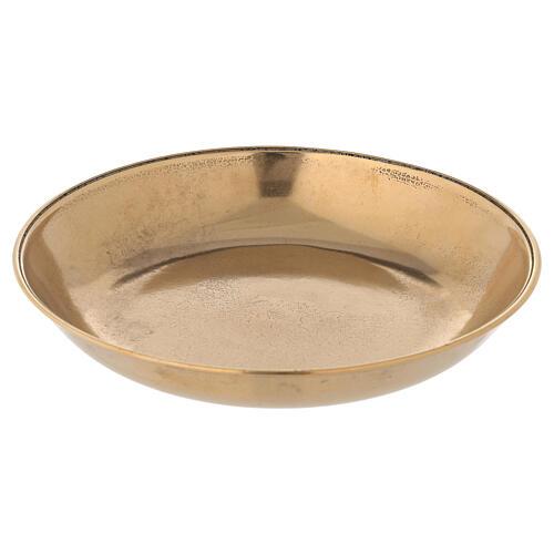 Jarra para lavagem das mãos em latão dourado antigo 4